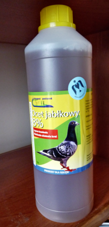 OCET JABŁKOWY Irbapol | Оцет яблучний для голубів