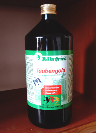 Taubengold Rohnfried   вітамінна добавка для покращення линьки голубів