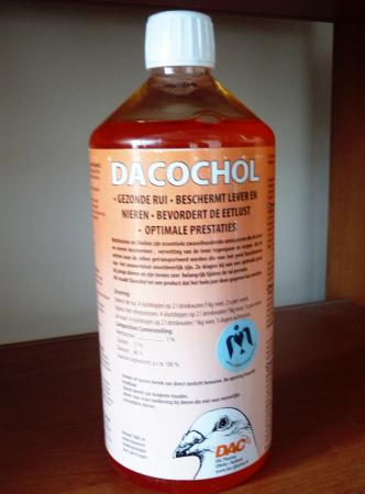 Dacochol DAC • Амінокислоти для відновлення печінки і нирок голубів