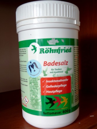 Badesalz Röhnfried | сіль для купання голубів