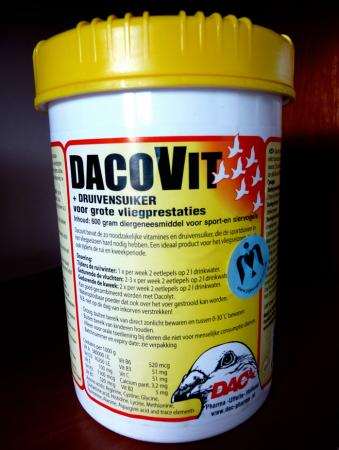DacoVit | вітаміни та виноградний цукор для голубів