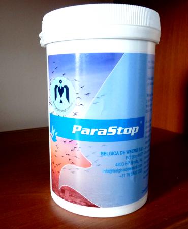 ParaStop Belgica de weerd 5г   препарат для лікування та профілактики сальмонельозу у голубів