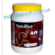 Nutribird A19 суха суміш для пташенят голубів та великих папуг