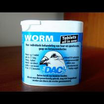 Worm tabs DAC | засіб від гельмінтів для голубів