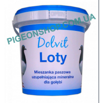 Dolvit Loty | Мінеральна добавка для голубів на льотний сезон