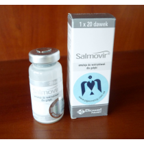 Salmovir Biowet 50 доз | інактивована вакцина від сальмонельозу та параміксовірусу голубів