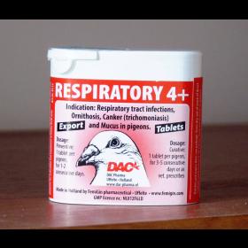 Respiratory 4+ DAC таблетки для лікування бактеріальних інфекцій голубів