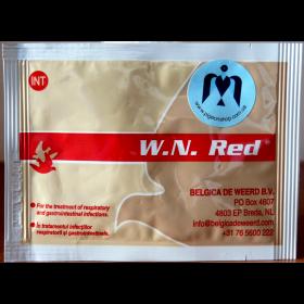 W. N. RED Belgica de weerd | засіб проти інфекцій верхніх дихальних шляхів для голубів