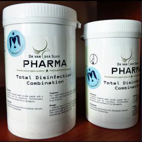 Total disinfection Combination Pharma |  засіб від кокцидіозу, трихомонозу, сальмонельозу, орнітозу голубів