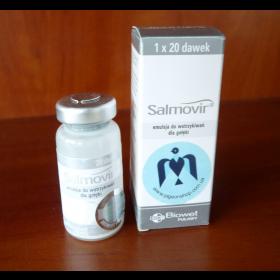 Salmovir Biowet 50 доз   інактивована вакцина від сальмонельозу та параміксовірусу голубів