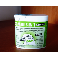 Combi 3 in 1 tabs DAC | таблетки проти трихомонозу, кокцидіозу голубів